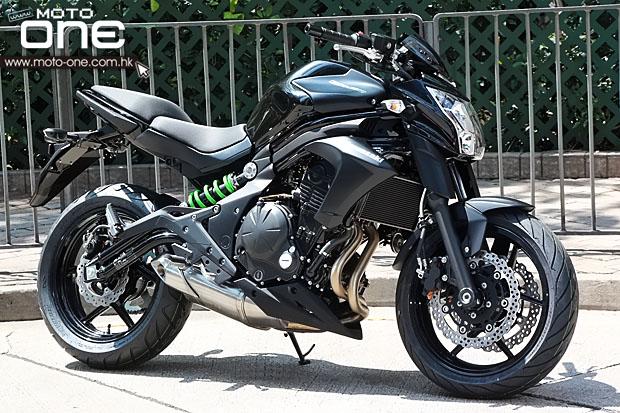 2014 Kawasaki ER6n black