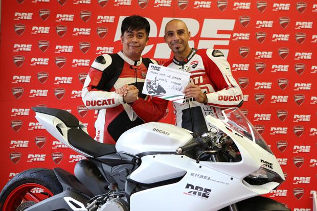 2014 Simon Kwan Ducati Master Racing Course