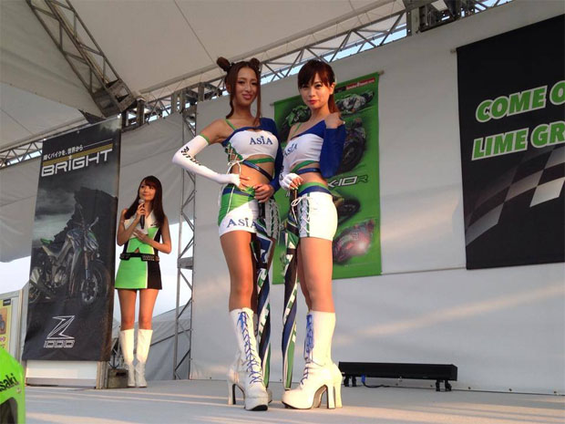 2014 suzuka 8hr racing girls