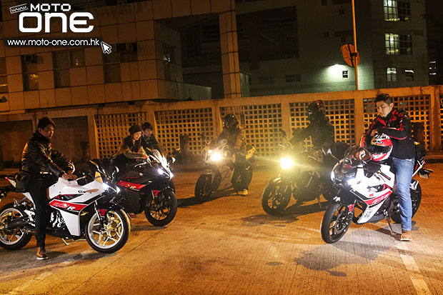 2015 hyosung gd250r gd250n night riding