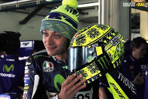 2015 rossi WinterTest helmet