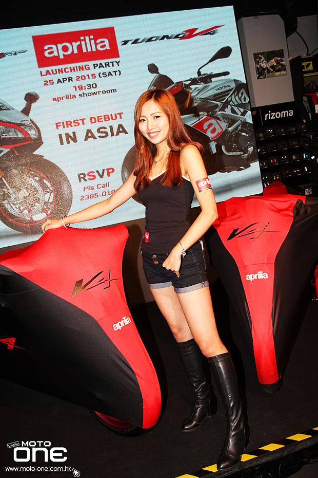 2015 APRILIA RSV4 RF & TUONO Factory launching party