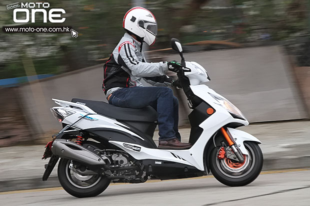 2015 kymco Racing King 180i ABS