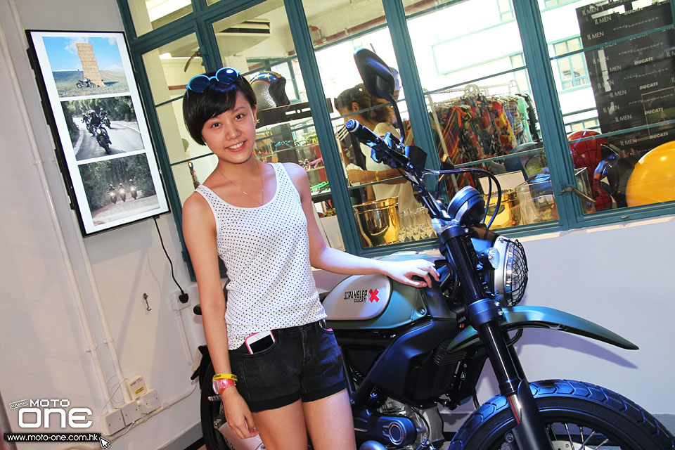 2015 Ducati Scrambler x IL Men