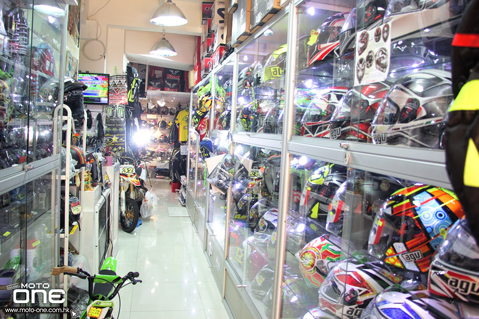 wai on helmet shop