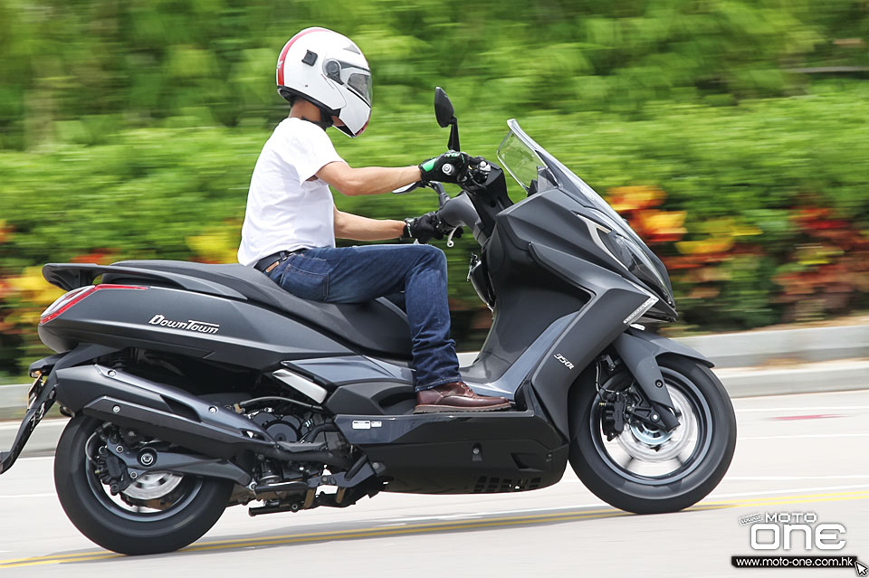 2015 KYMCO DOWNTOWN 350i TEST