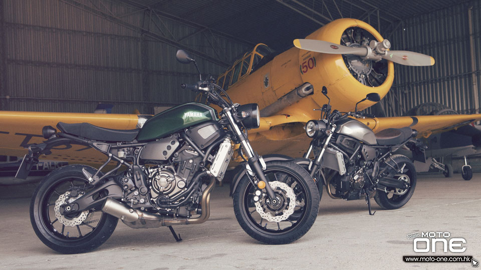 2016 Yamaha XSR700 ABS