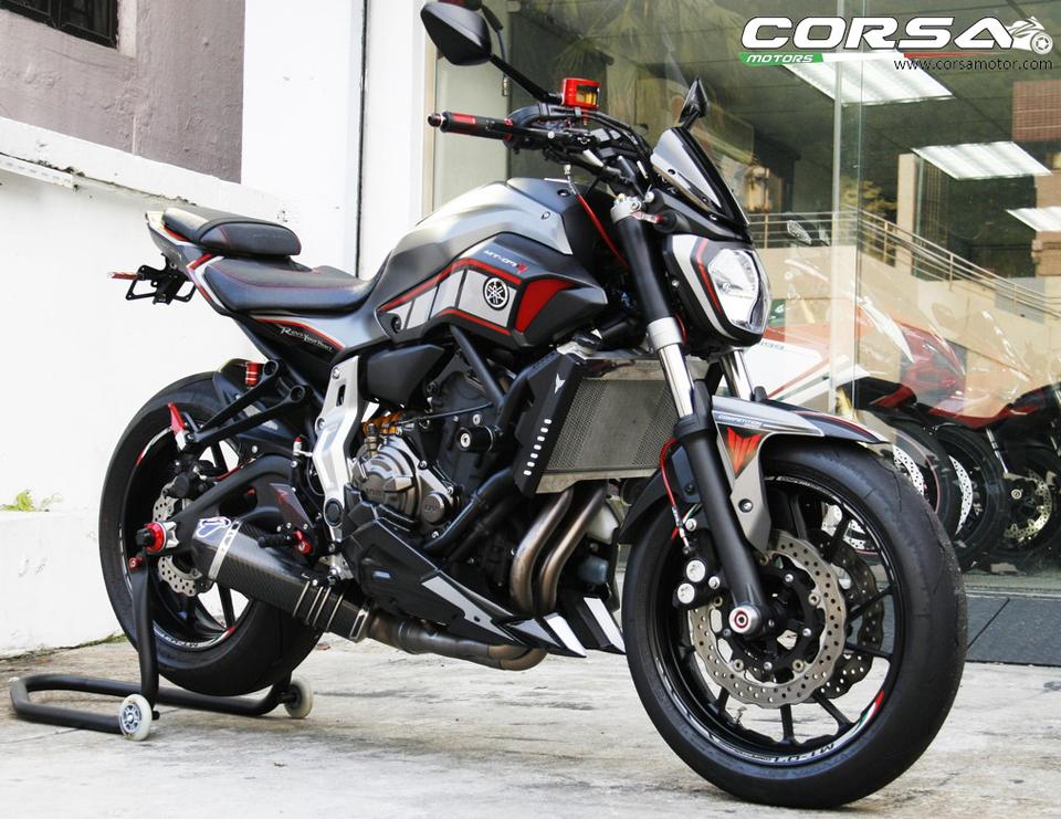 2015 YAMAHA MT-07 Corsa Motors
