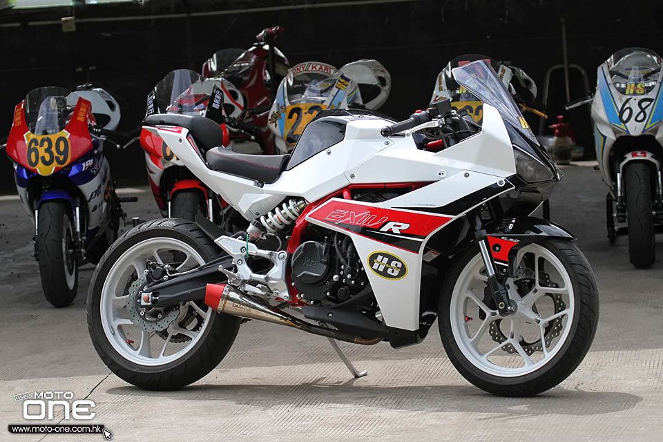 2015 HYOSUNG GD250R racing