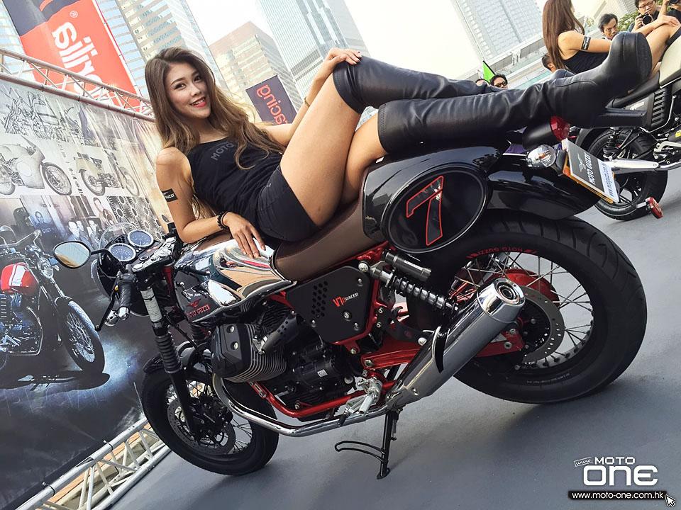 2015 MOTO-GUZZI HKBIKESHOW