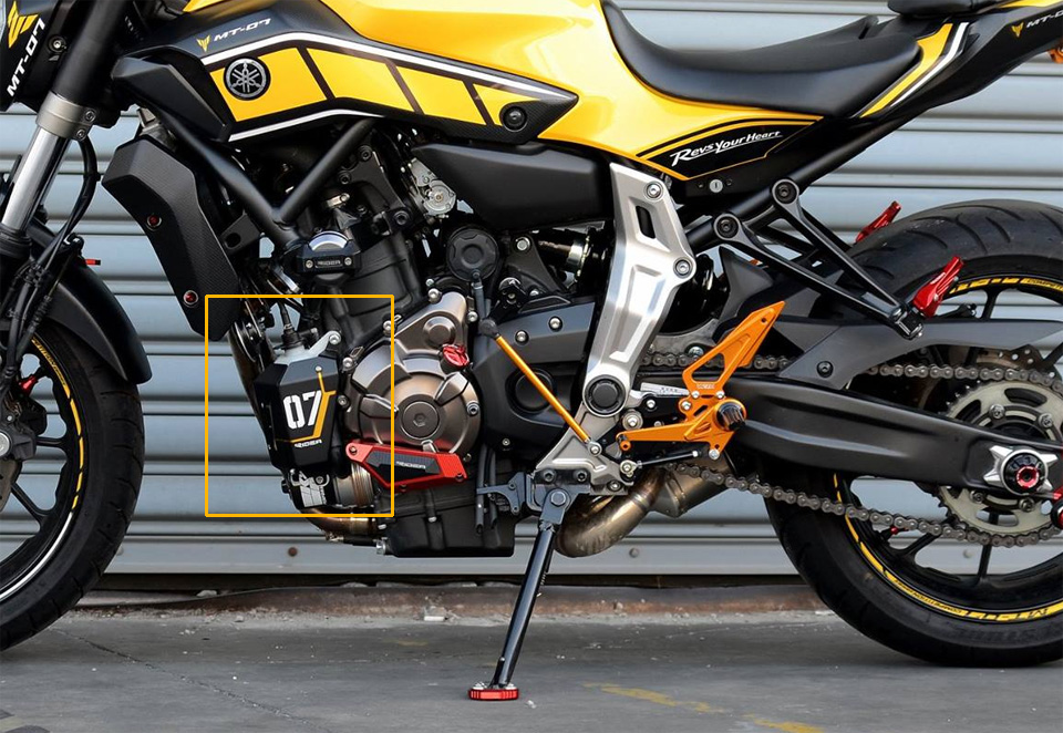 YAMAHA MT-07 PARTS