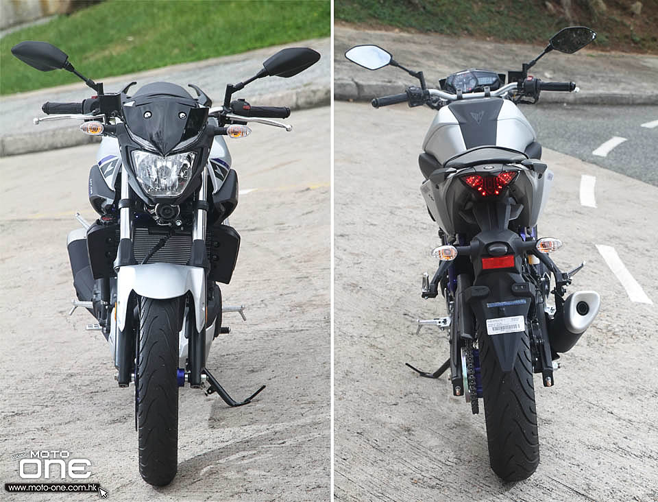 2016 yamaha mt-03 test