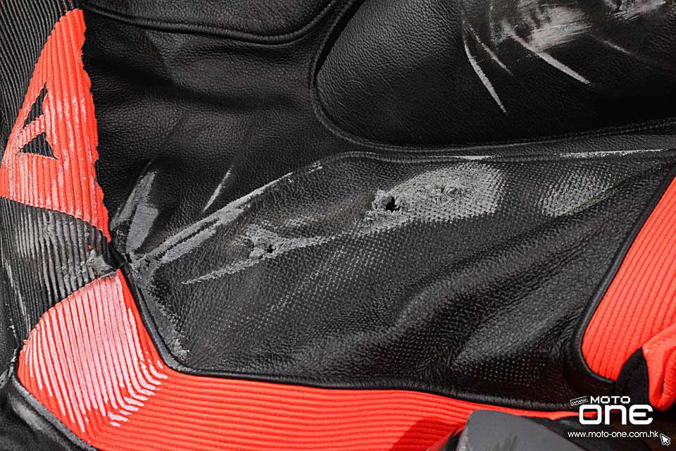 dainese dair AirBag crash report