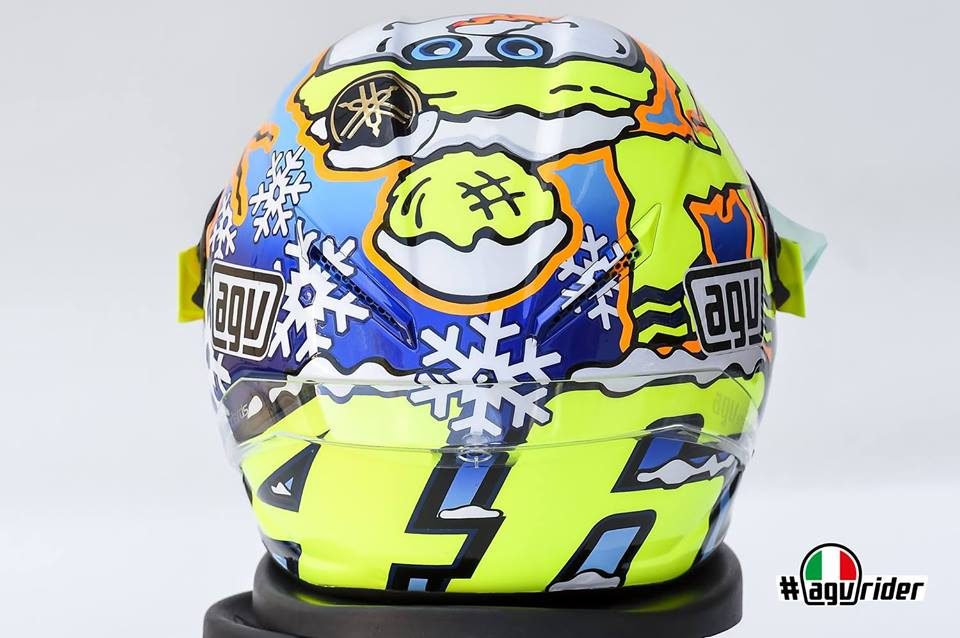 2016 AGV PISTA CORSA WINTER TEST