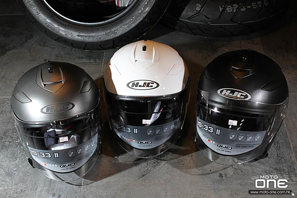2016 HJC IS-33 II helmets