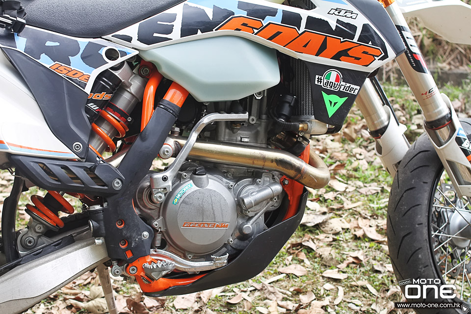 2016 ktm 500exc six days wai on test