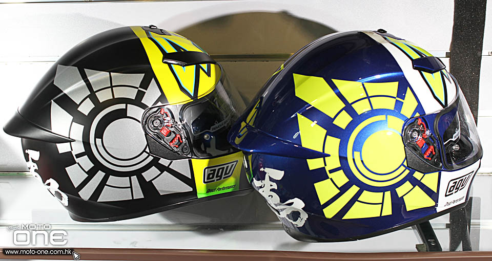2016 AGV K3 SV Winter test 2012 blue