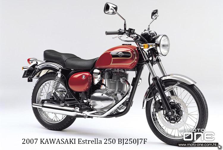 2007 KAWASAKI Estrella 250 BJ250J7F
