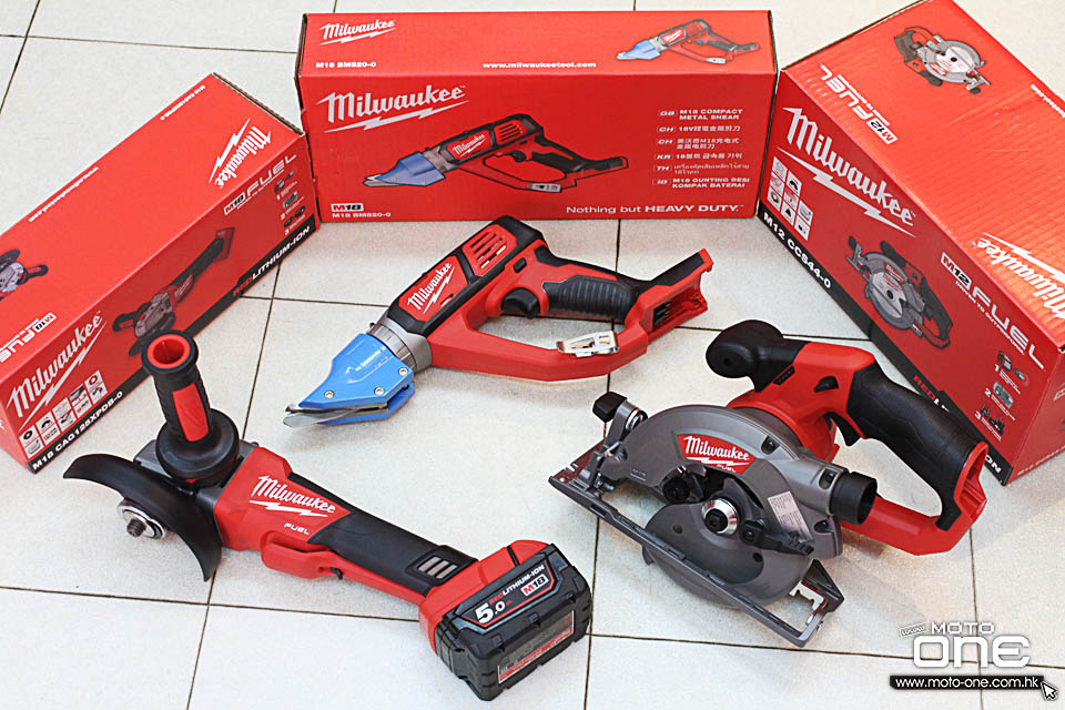 2016 MILWAUJKEE TOOLS