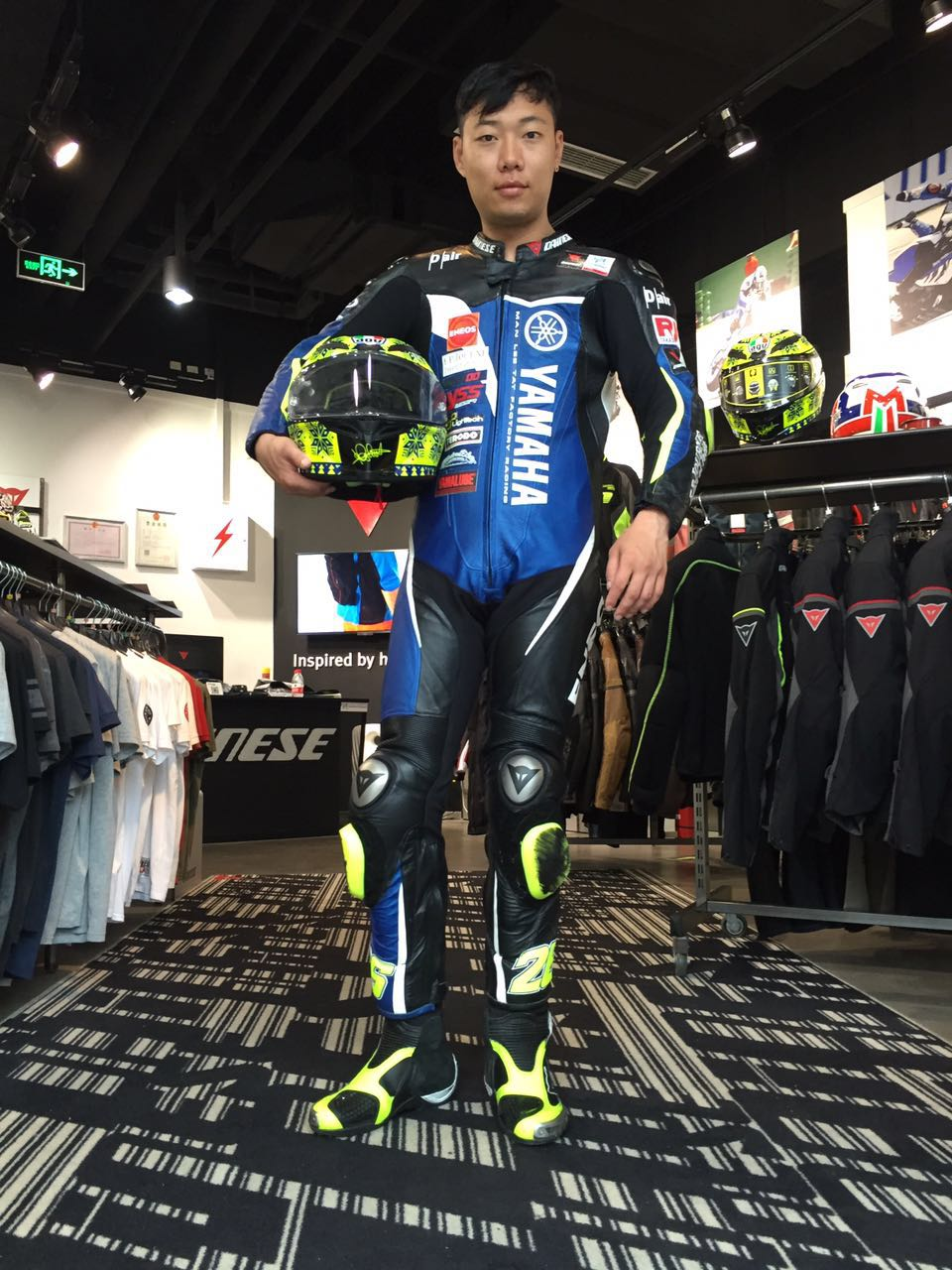 2016 Dainese D-Air Yes Yamaha