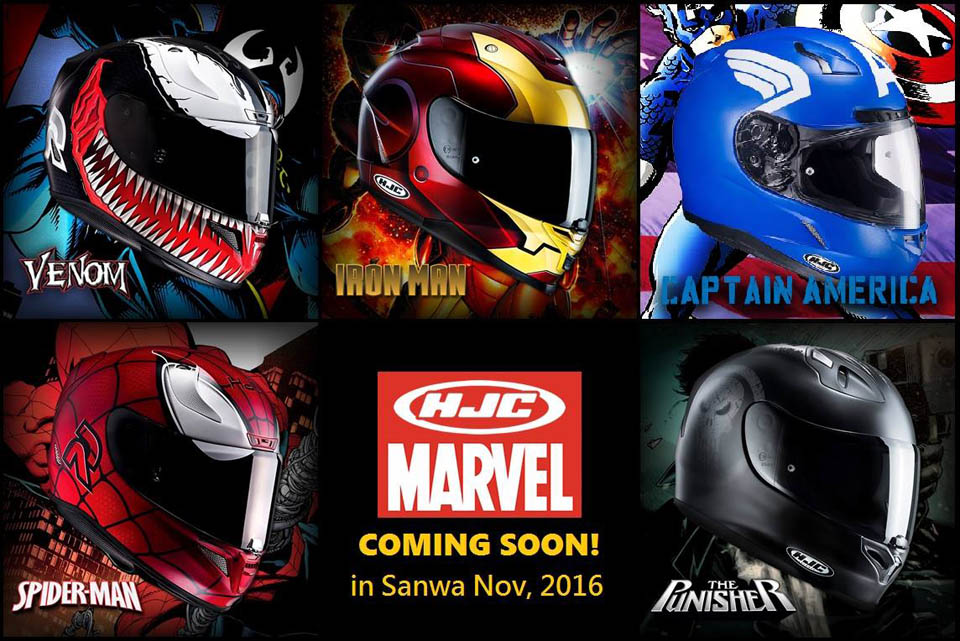 2016 HJC HELMETS MARVEL HERO