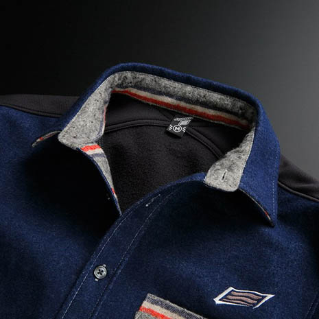 2016 HYOD WIND BLOCK WARM CHAMBRAY SHIRTS