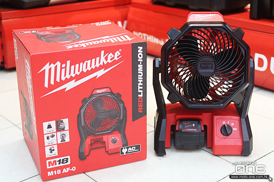 2016 MILWAUKEE M18 AF-0 FAN