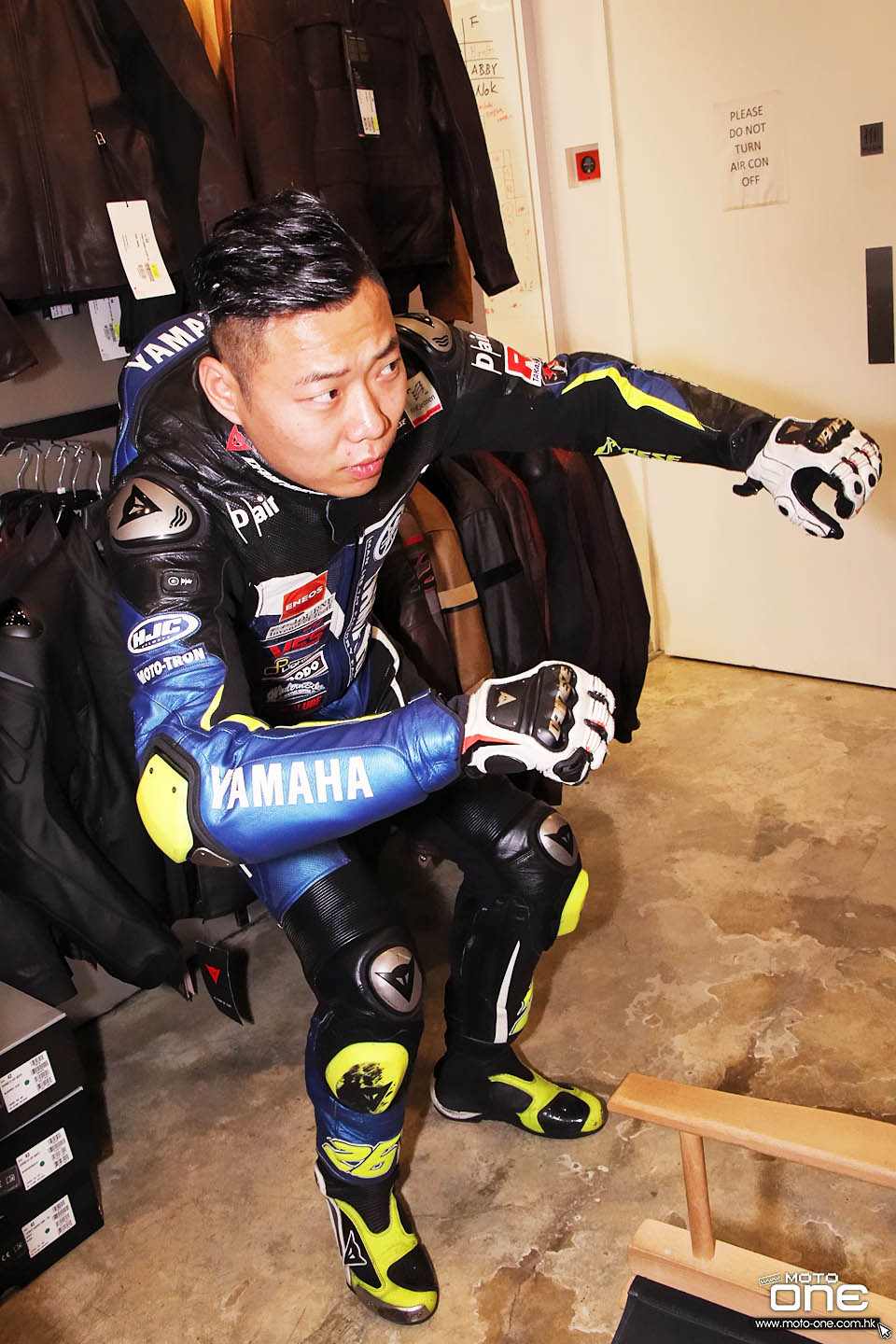 2017 DAINESE HK YAMAHA RACING TEAM RIDER