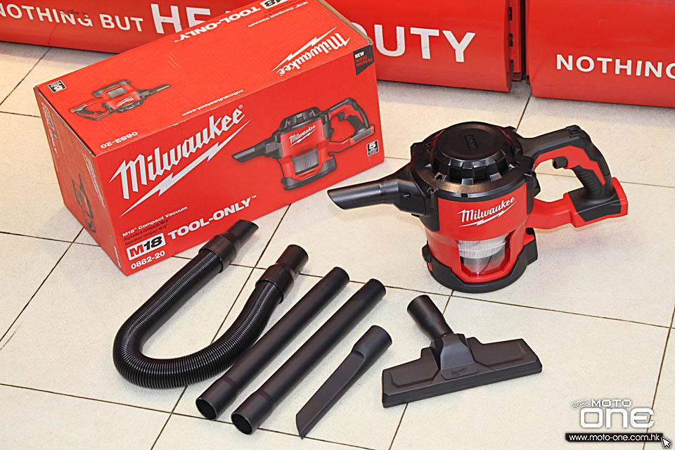 2017 MILWAUKEE M18 Compact Vacuum