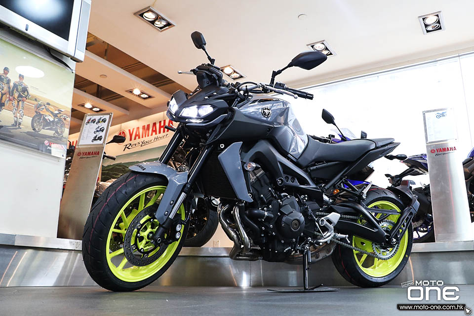 2017 YAMAHA MT-09 ABS