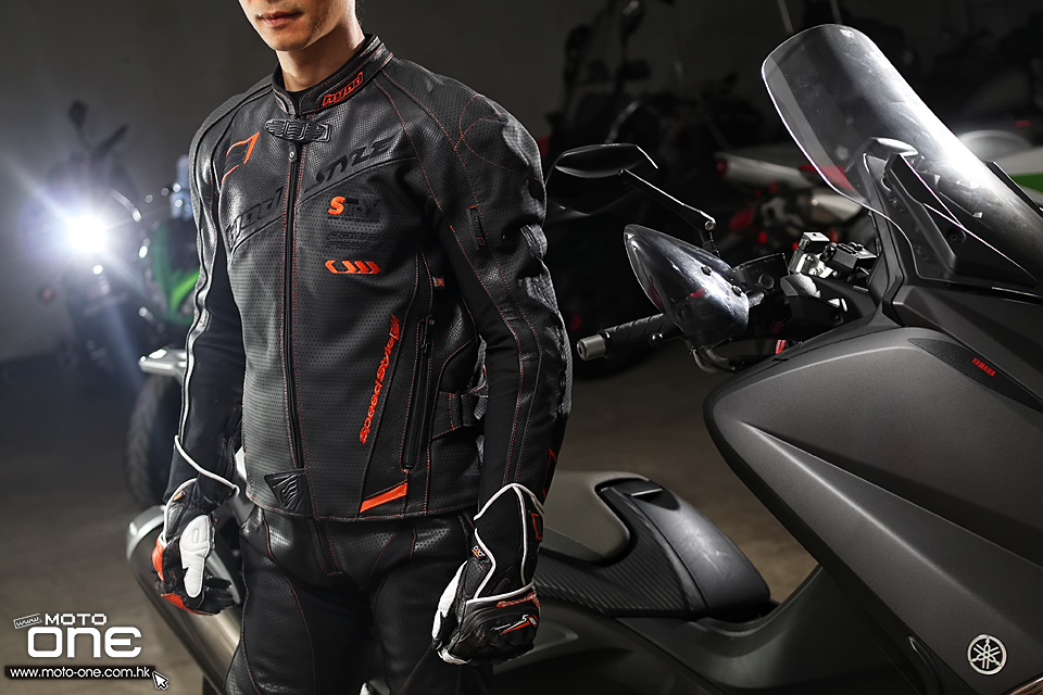 NEO SPEED-iD D3O ST-X LEATHER JAC