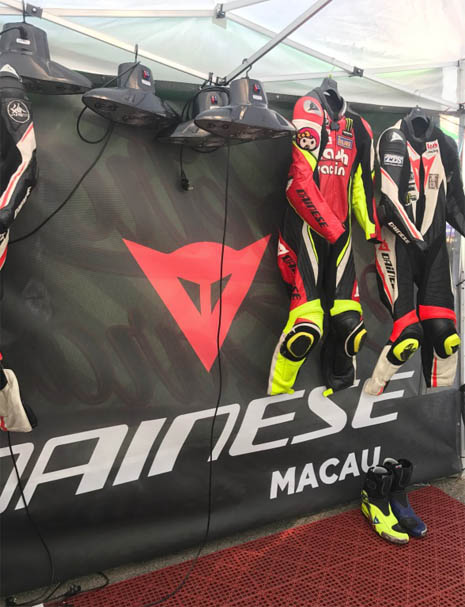 2017 DAINESE AGV ZIC SERVICES