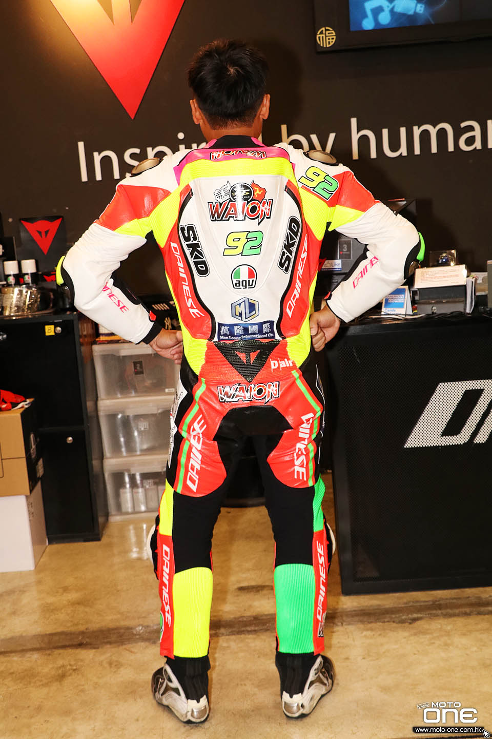 2017 Dainese D-Air WAI ON CHEUNG