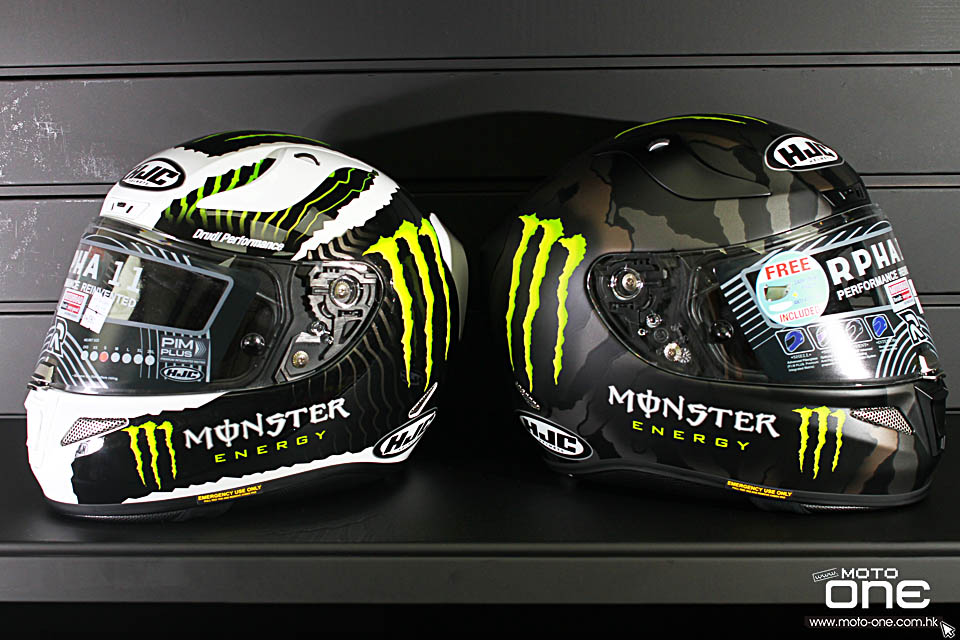 2017 HJC R-PHA11 x MONSTER Limited Edition