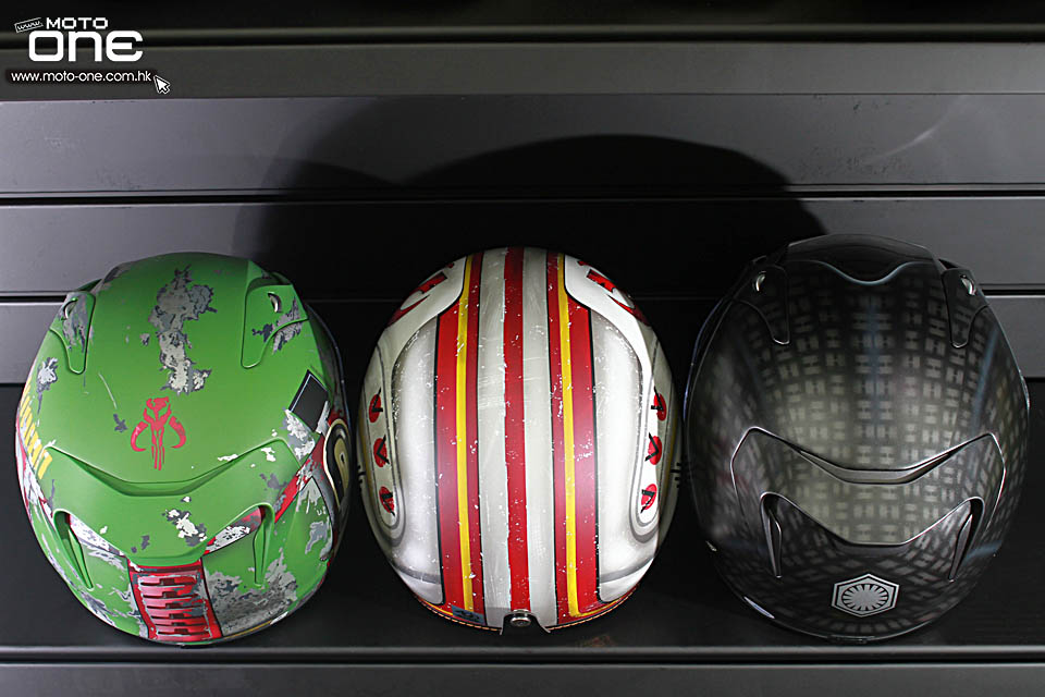 2017 HJC x STAR WAR HELMETS
