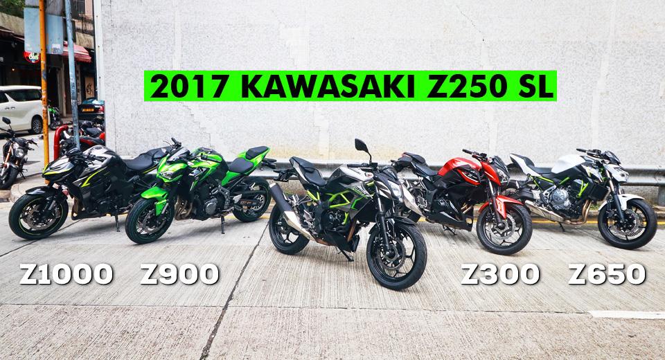 2017 KAWASAKI Z250SL