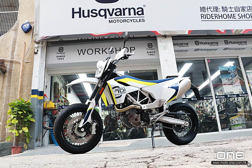 2017 HUSQVARNA 701 SUPERMOTO