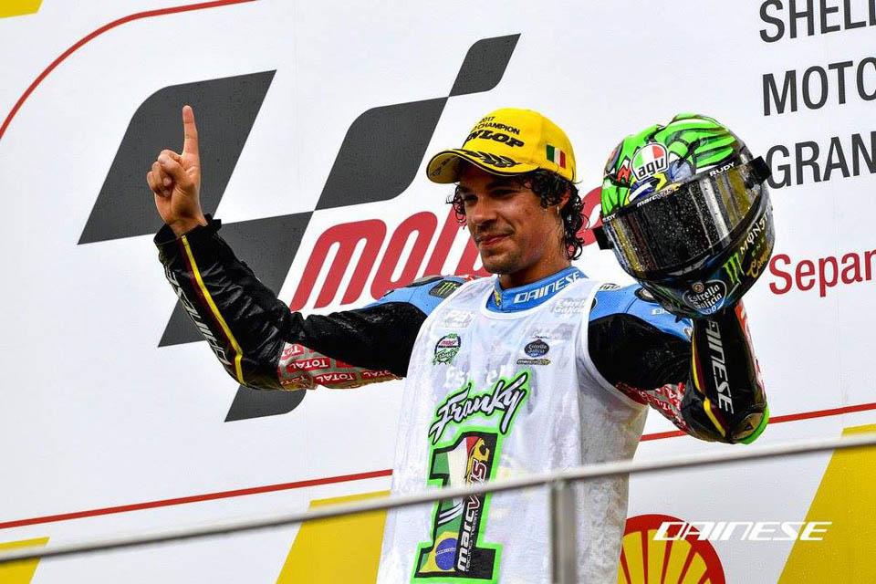 2017 AGV Moto2 Moto3 champion helmets