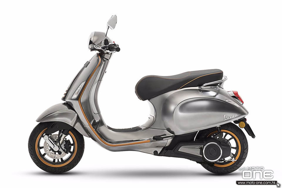 2018 Electric Vespa scooters
