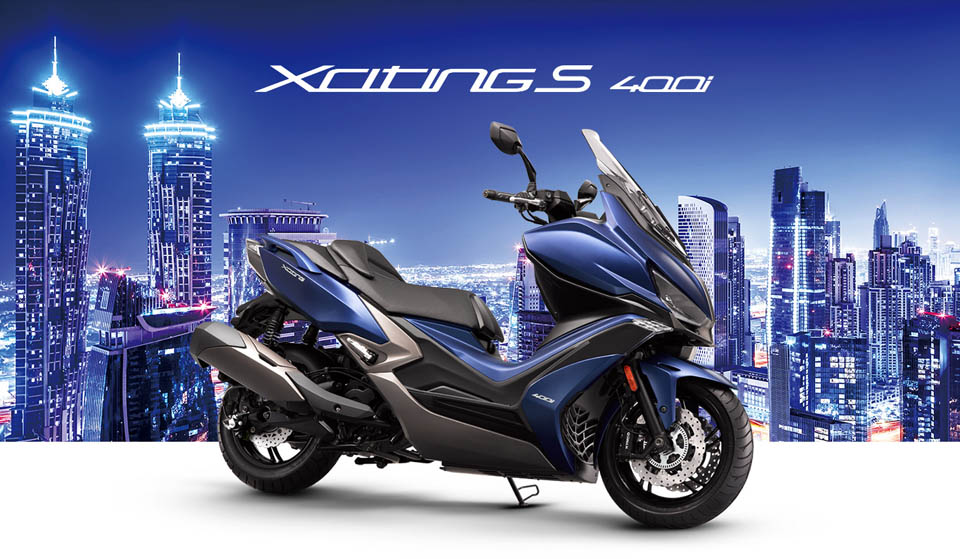 2018 KYMCO XCITING S 400