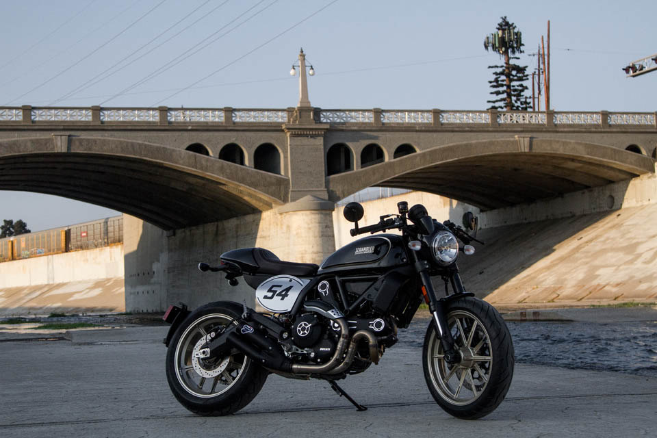 2018 DUCATI Scrambler Cafe Racer TEST DAY