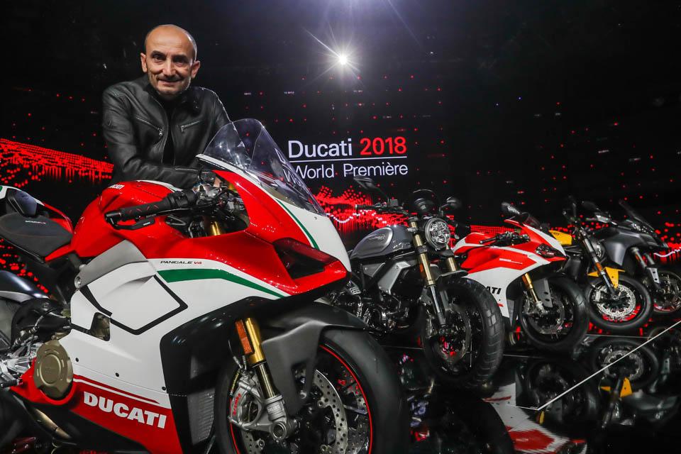 2018 Ducati Motor Holding