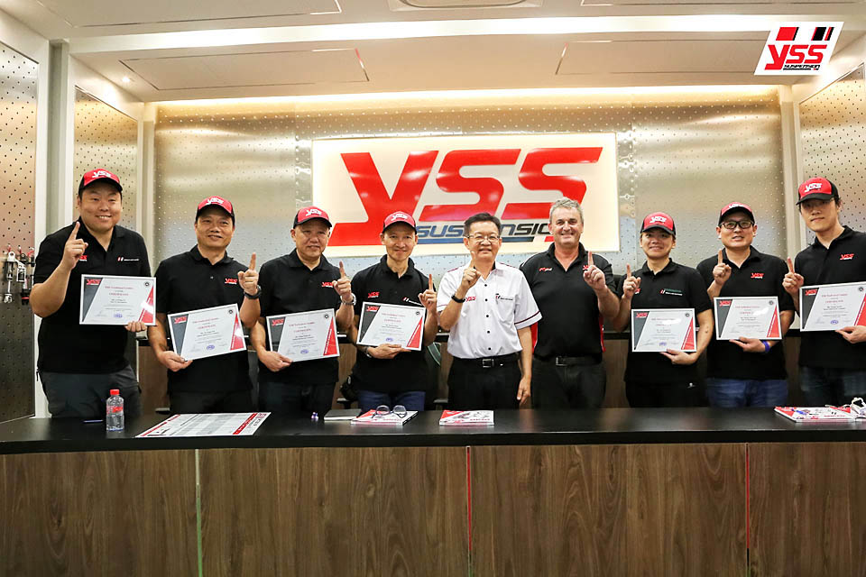 2018 YSS suspension