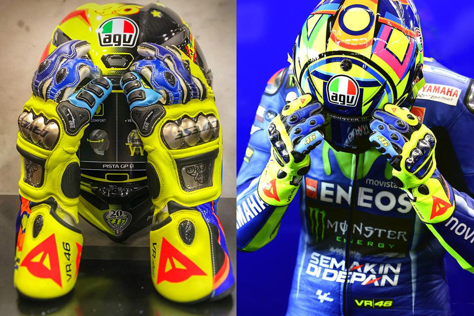2018 DAINESE FULL METAL 6 REPLICA VR46
