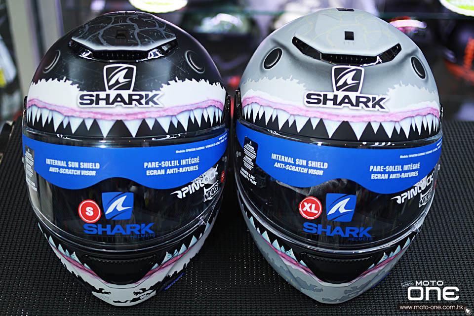 2018 Shark Spartan HELMETS