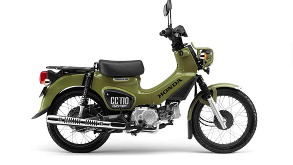 2018 Super Cub Cross Cub 110cc