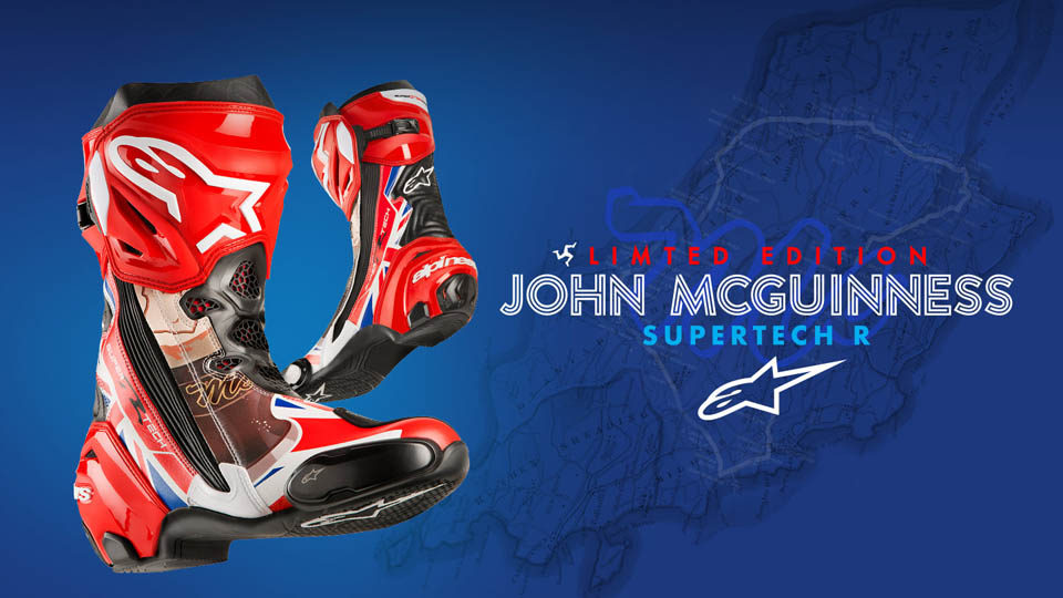 2018 ALPINESTARS SUPERTECH R John McGuinness Limited Edition