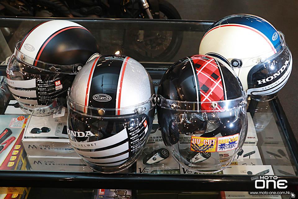 2018 HONDA MONKEY helmets