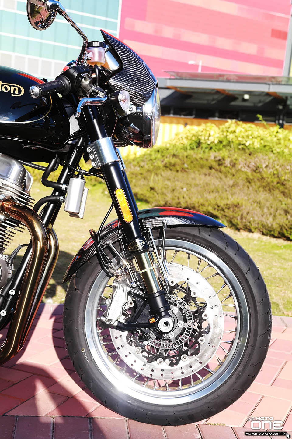 2018 NORTON COMMANDO 961 SPORT CAFE RACER California 50