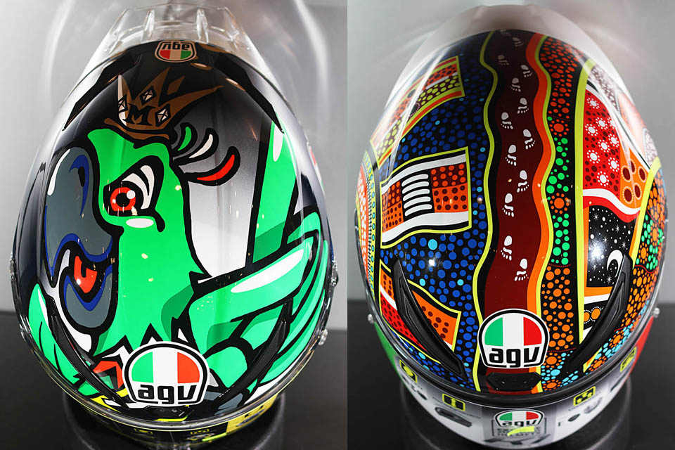 2018 AGV PISTA GP R K1 Dream Time
